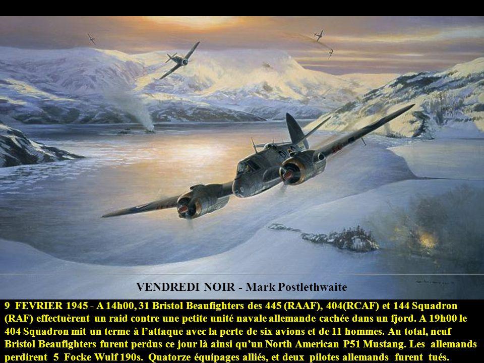 EMBUSCADE - Heinz Krebs Les MESSERSCHMITT Me 262, étaient vulnérables aux attaques de chasseurs pendant le décollage et latterrissage. Pour palier aux
