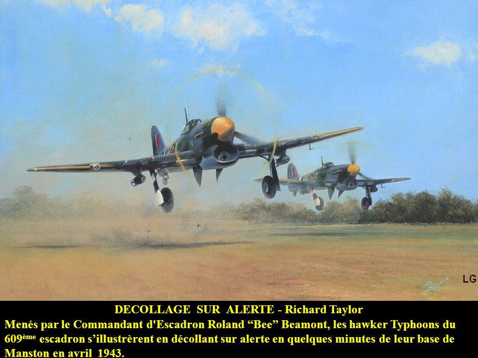 AFFRONTEMENT DAIGLES - Roy Grinnell MAI 1944 – Le Lt. Hubert Hackmann, se rendant compte de lenrayement de ses canons, heurta avec son Me-109 le north