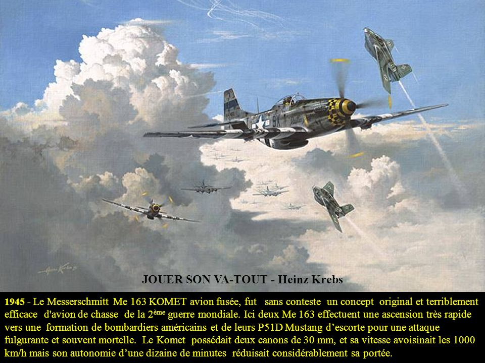MISSION TIRPITZ ACCOMPLIE - Mark Postlethwaite 12 NOV 1944 – Des Avro Lancasters des 9ème et 617ème Sqns coulent le cuirassé Tirpitz, dans le Fjord Tr
