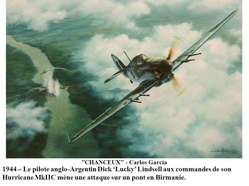 ONE THE HARD WAY - Dan Zoernig 25 décembre, 1941. Durant un combat aérien au dessus du Golfe de Martaban le leader du Groupe de Volontaire américain P