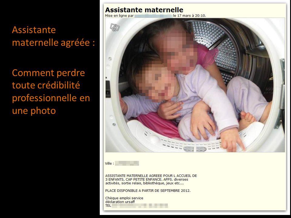 Assistante maternelle agréée : Comment perdre toute crédibilité professionnelle en une photo