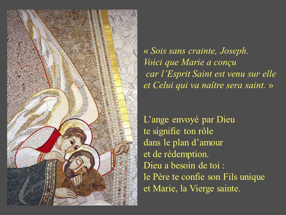 Homme de prudence Homme de prudence Tu apprends que Marie est enceinte, et humblement tu pries : « Seigneur, je ne suis pas digne de recevoir la Vierg
