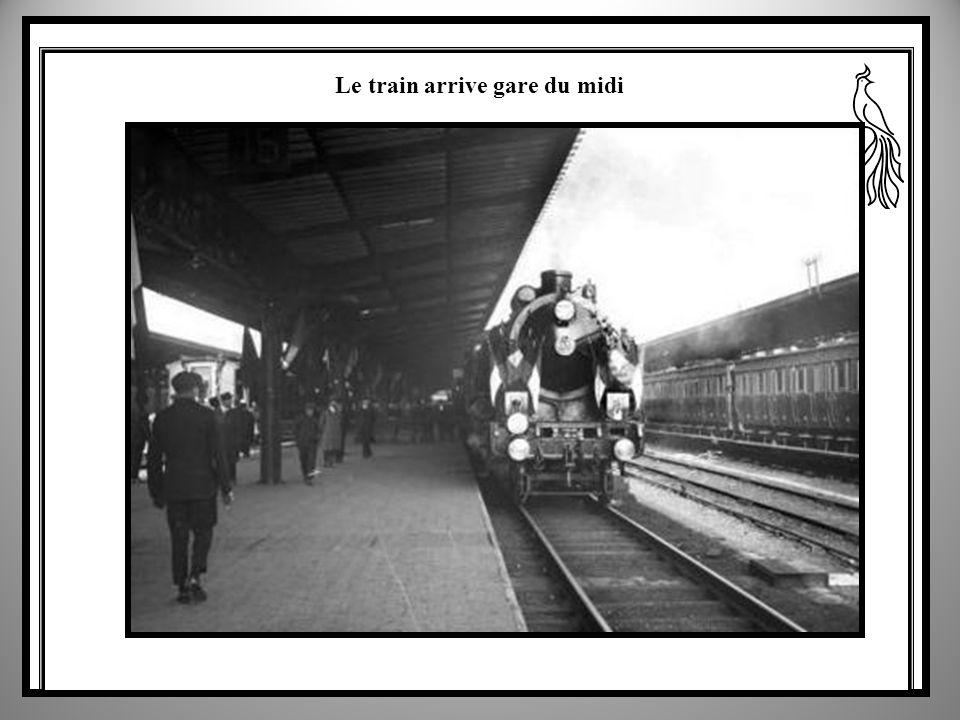 Lancienne gare du nord place Rogier