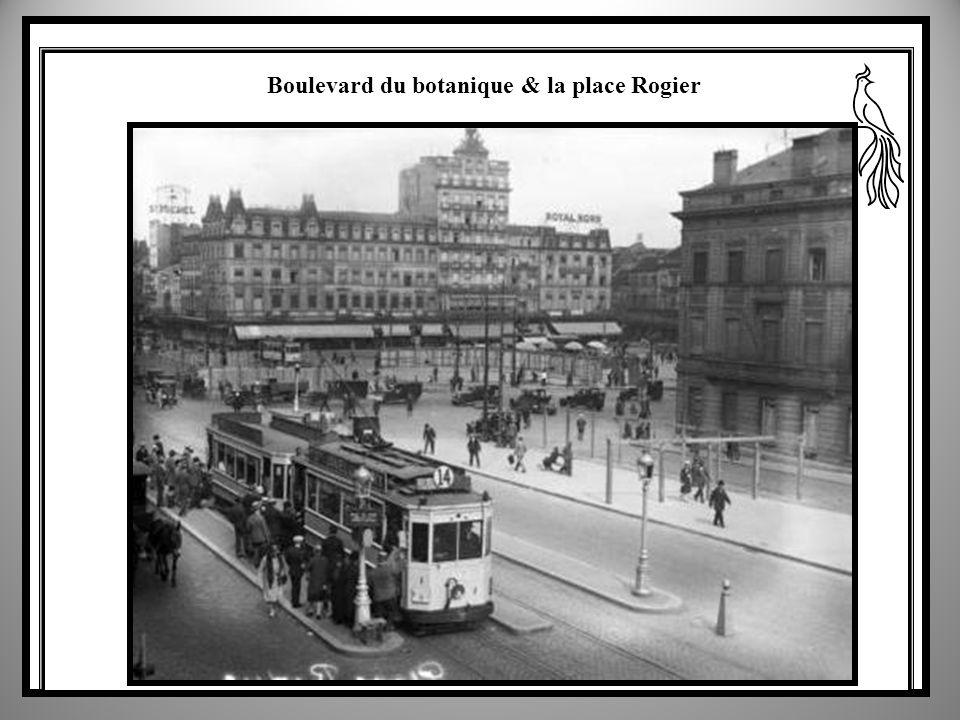 Boulevard du botanique & la place Rogier