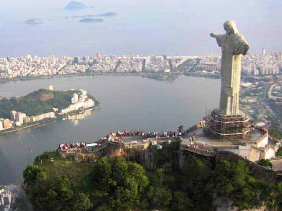 La statue la plus haute du monde Cristo Redentor Río de Janeiro, Brasil.