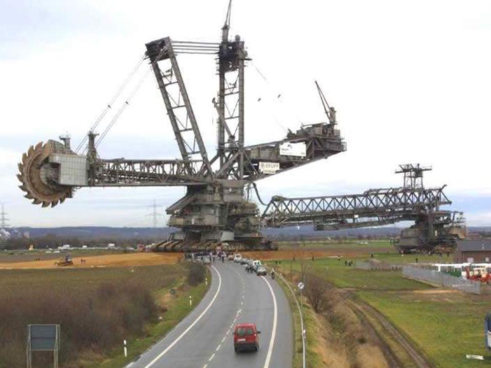 Lexcavatrice la plus grande Construite par KRUPP en Allemagne.