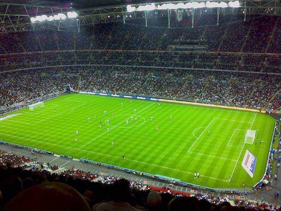 Le stade le plus cher Stade de New Wembley, Londres, Angleterre.