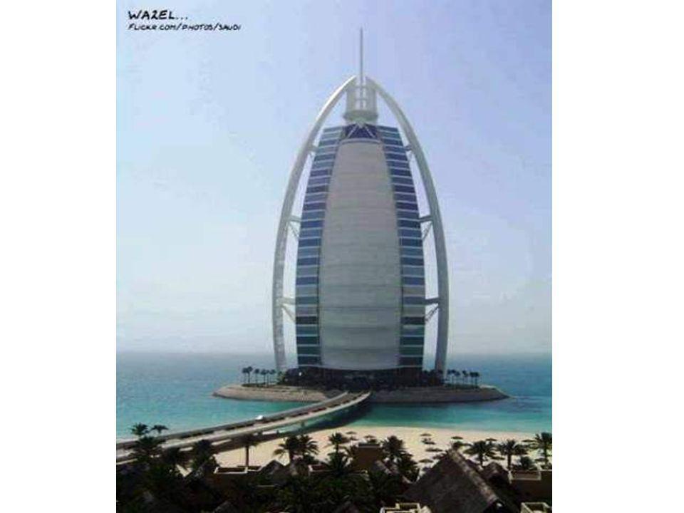 Lhôtel le plus cher Burj al Arab Hotel, Dubai, Emiras arabes.