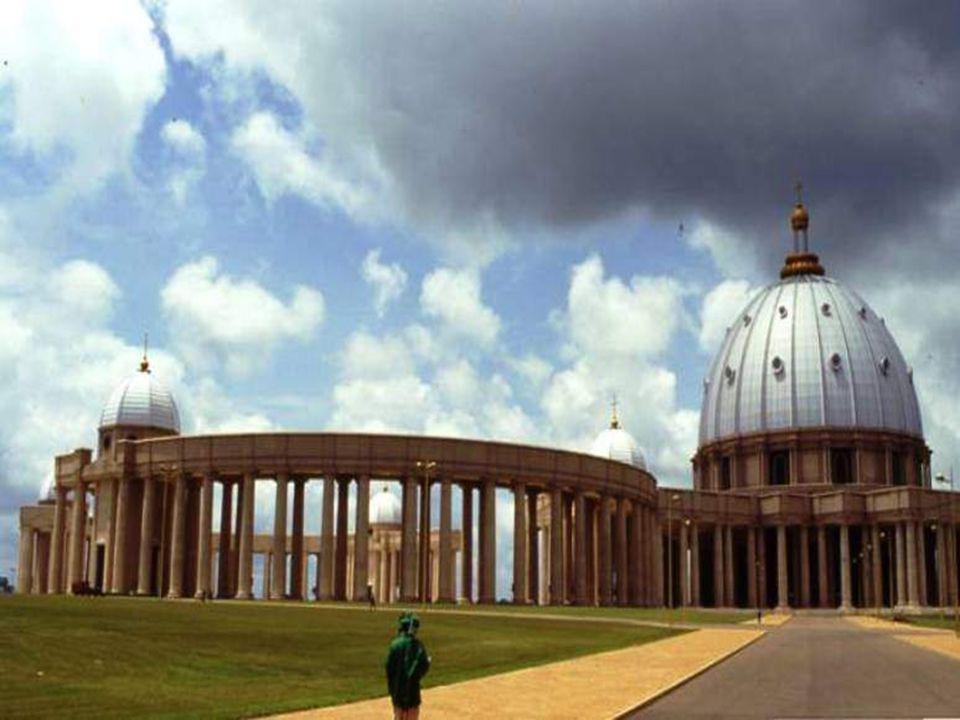 La cathédrale la plus grande Costa de Marfil, África.