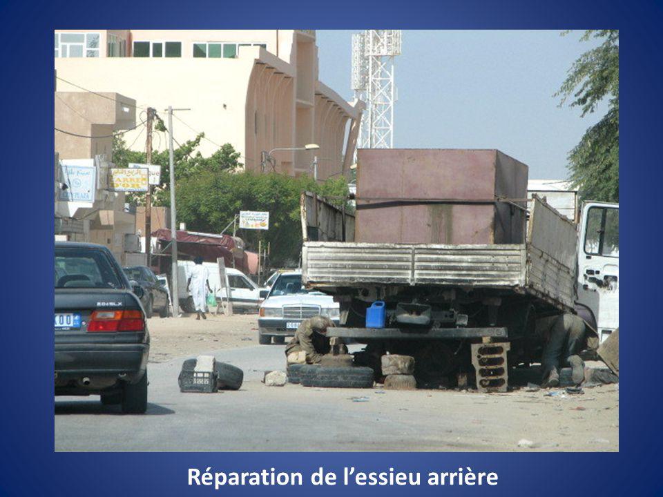 Réparation sur place….