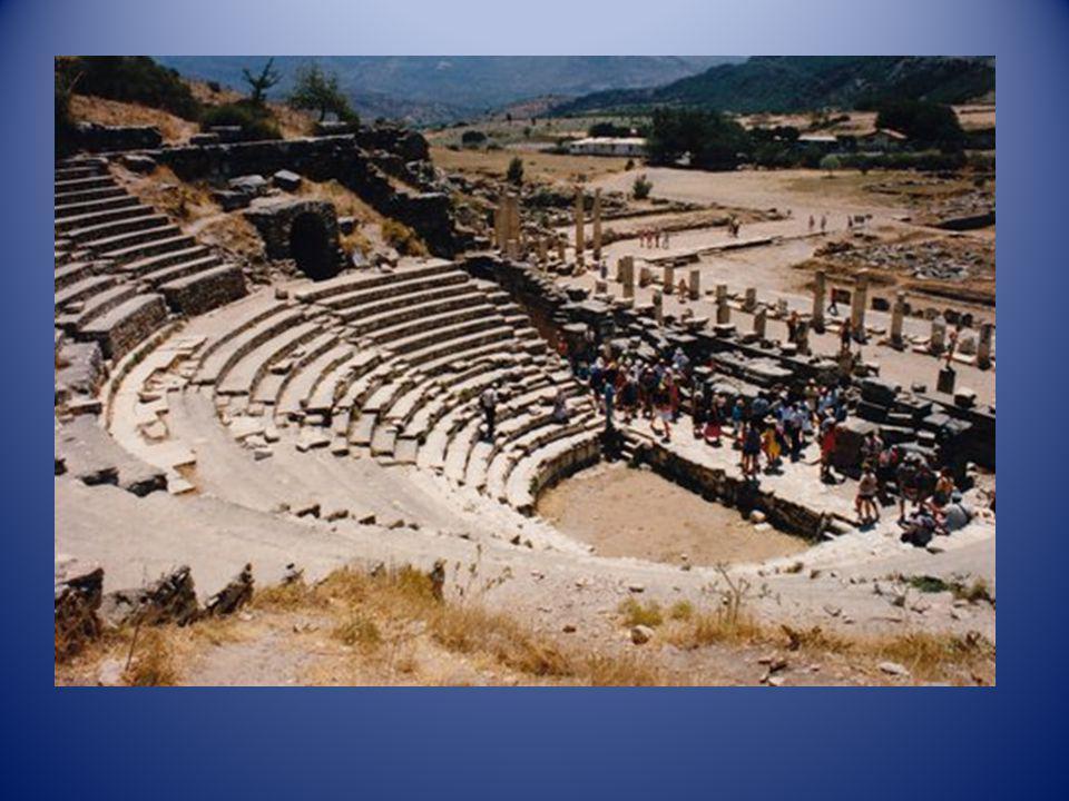 Ruines romaines région dAphrodisias (Turquie)
