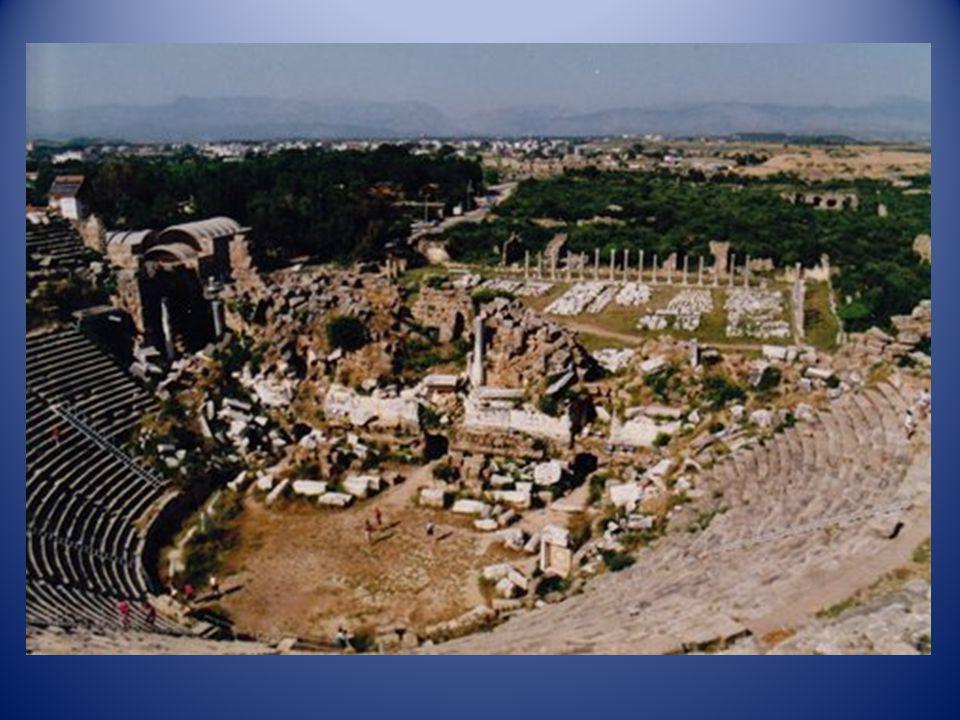Le grand Théâtre dEphèse (Turquie)
