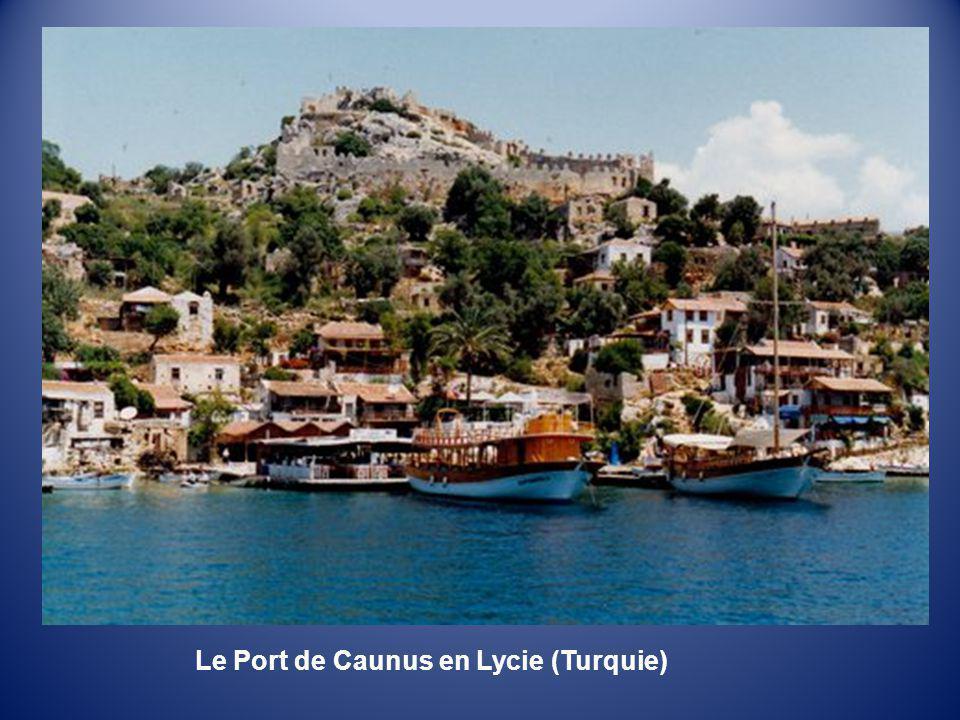 Sur la côte de lancienne Lycie (Turquie)