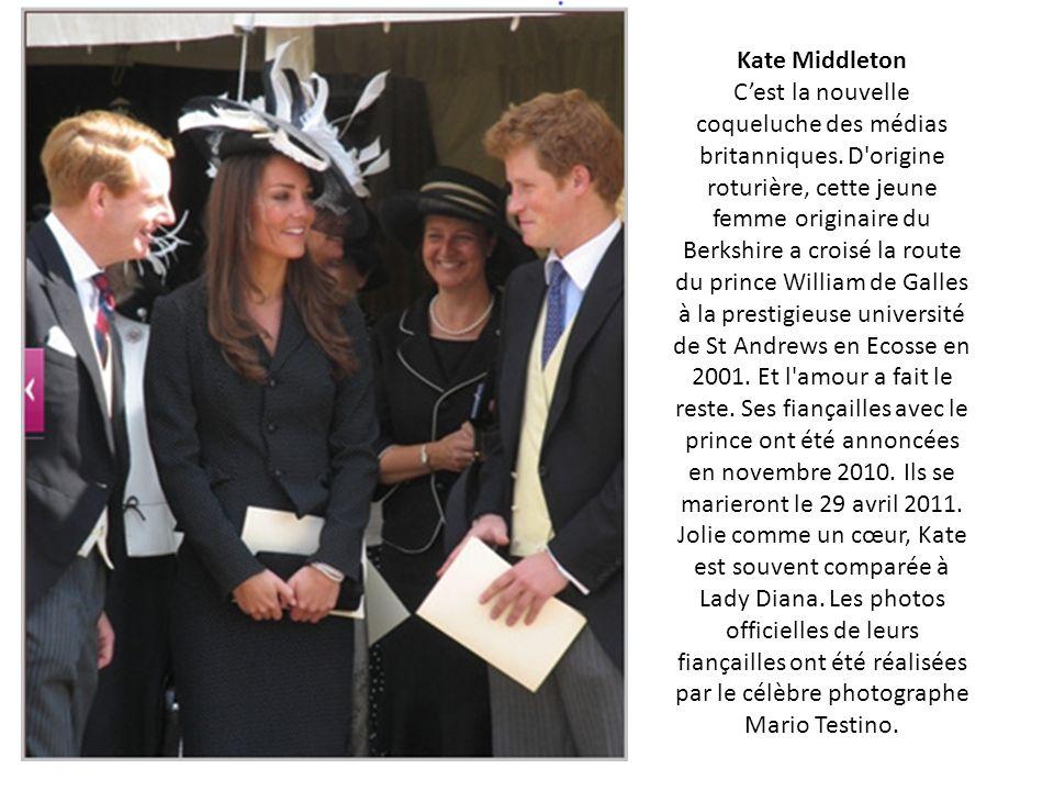 Kate Middleton Cest la nouvelle coqueluche des médias britanniques.