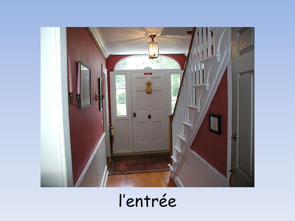 Les étages de limmeuble le deuxième étage le premier étage le rez-de chaussée