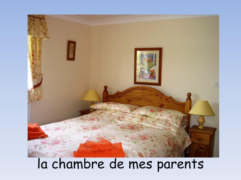 la chambre de mes parents