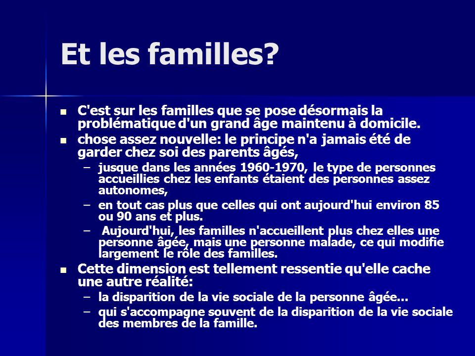 Et les familles.