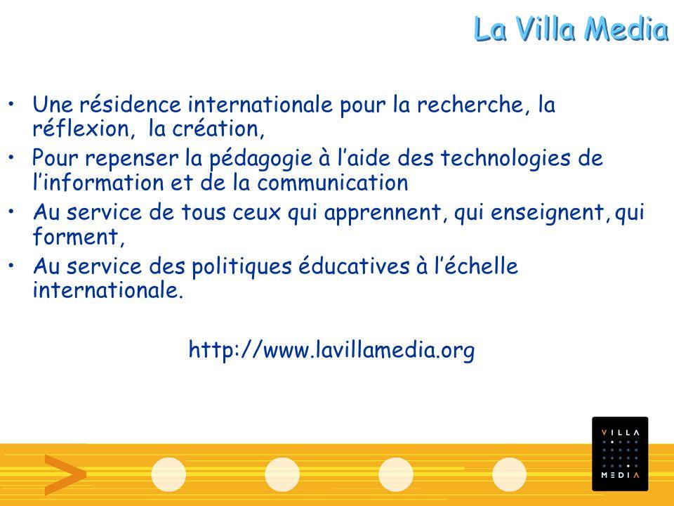 Une résidence internationale pour la recherche, la réflexion, la création, Pour repenser la pédagogie à laide des technologies de linformation et de l