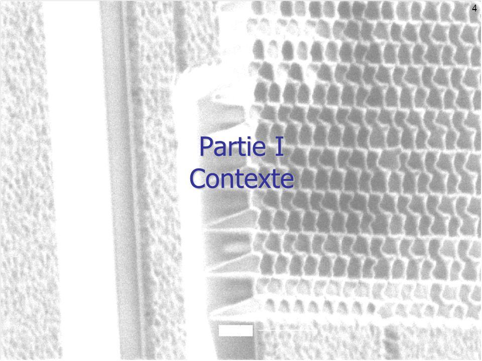 5 Les cristaux photoniques Arrangement périodique de matériaux diélectriques ou métalliques.