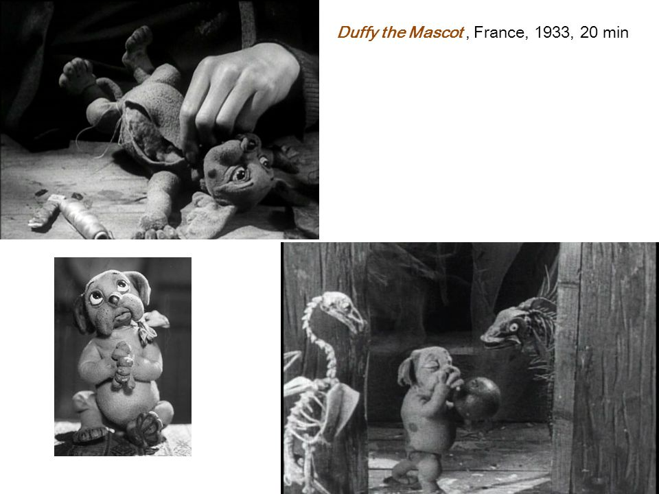 Duffy the Mascot, France, 1933, 20 min