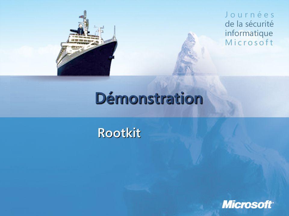 DémonstrationDémonstration Rootkit
