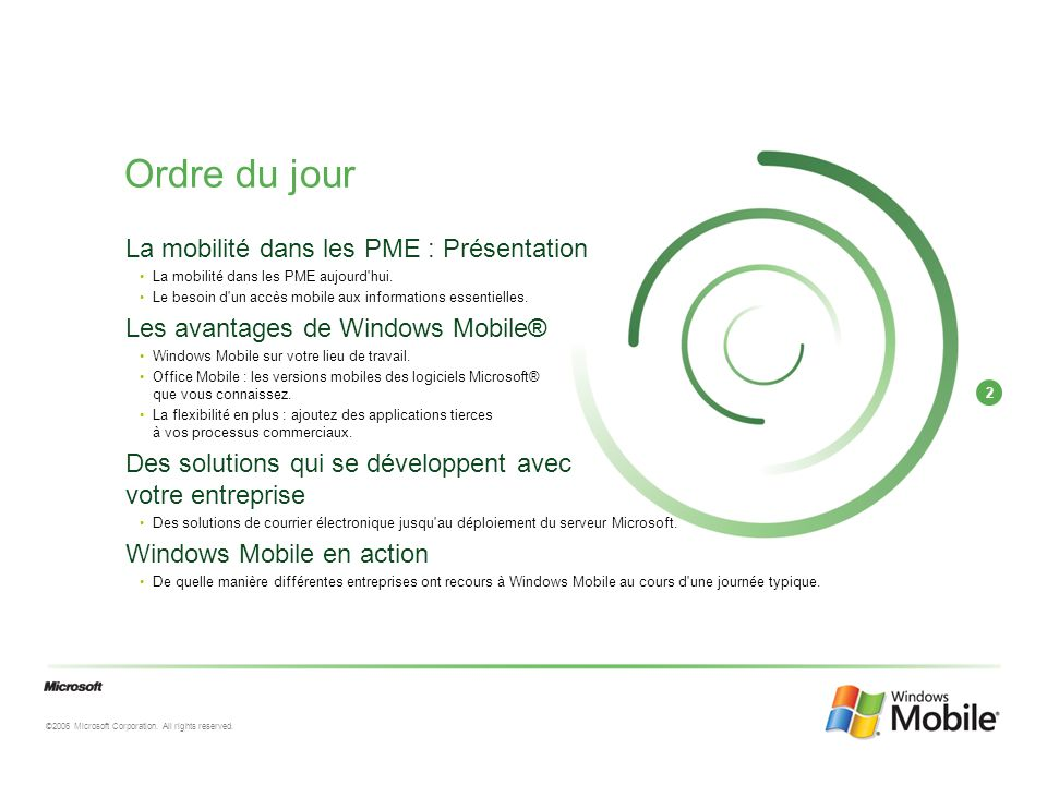 3 ©2006 Microsoft Corporation.All rights reserved.
