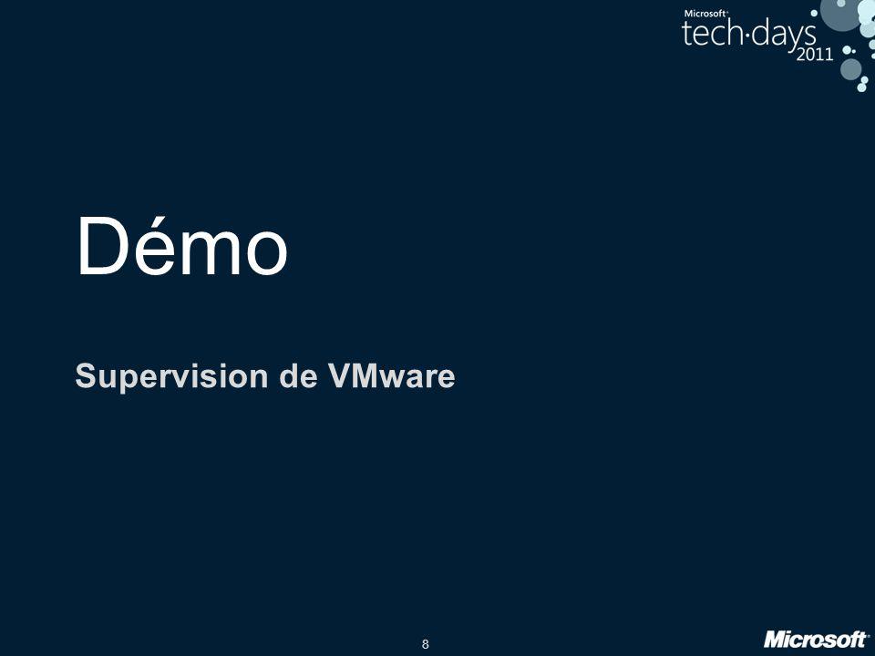 8 Démo Supervision de VMware