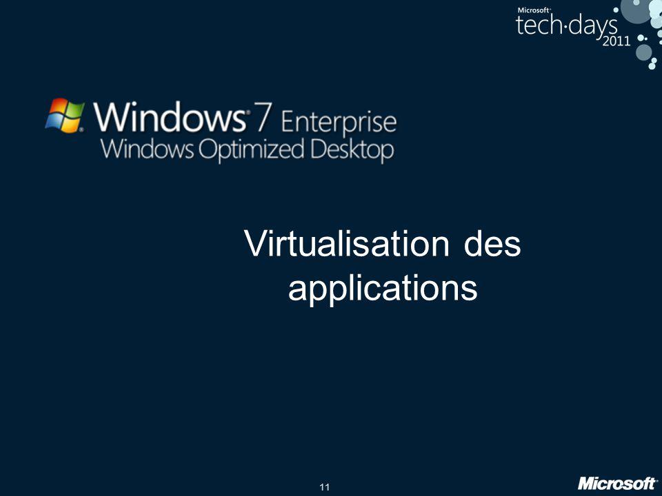 11 Virtualisation des applications