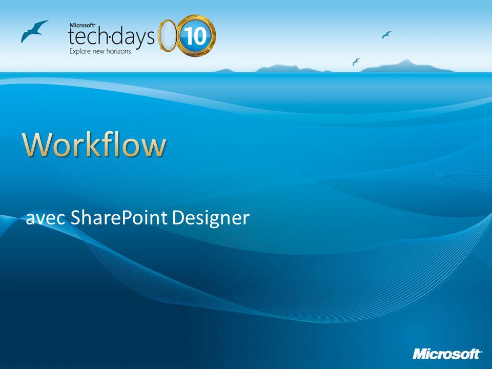 avec SharePoint Designer