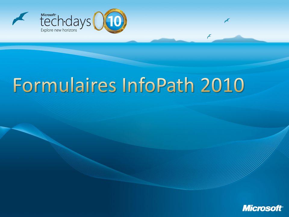 Grâce à SharePoint 2010, découvrez de nouveaux horizons dans la création de formulaires et de workflows sans développer.