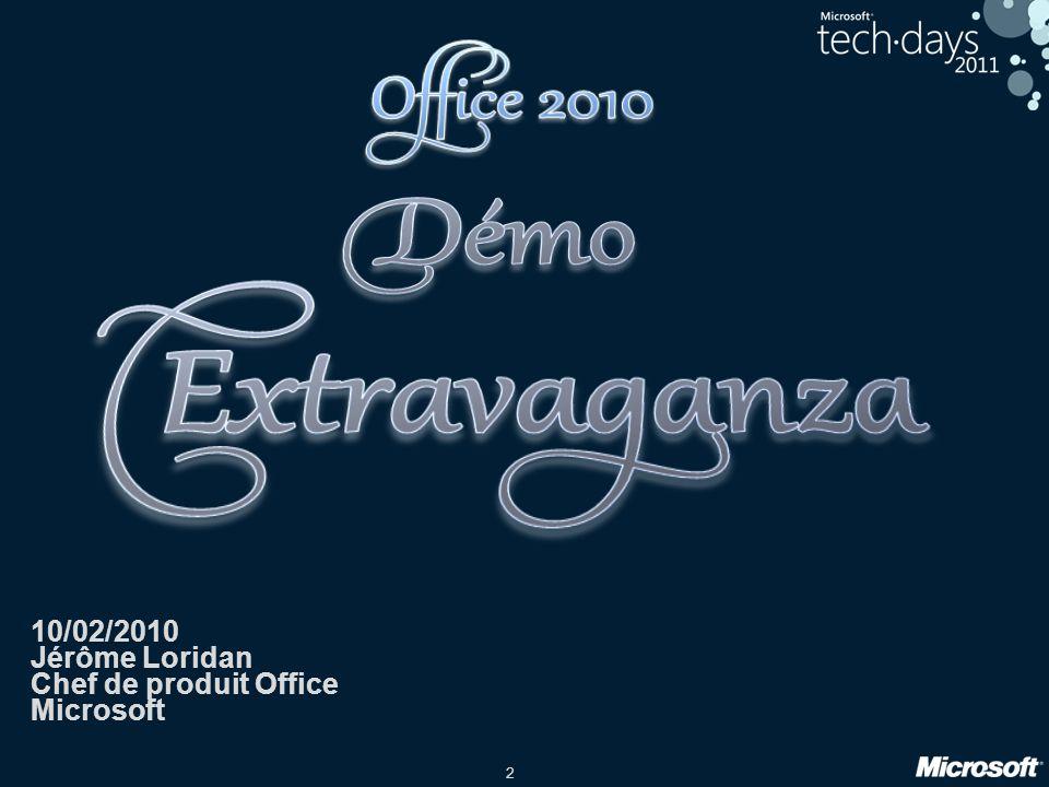 3 La plateforme Office 2010 3
