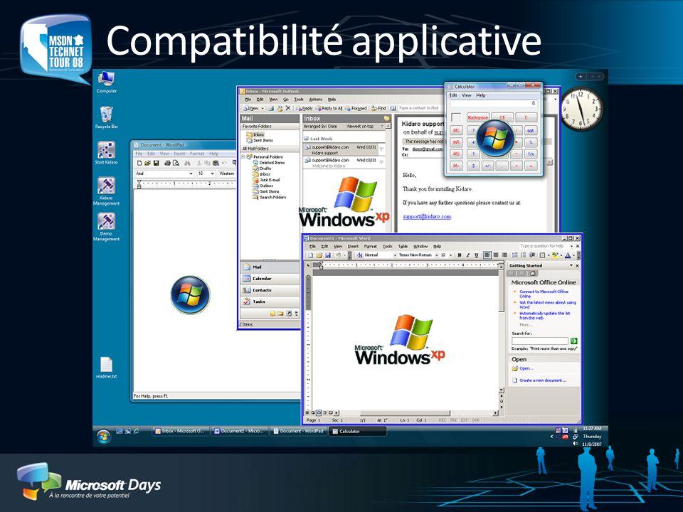 Compatibilité applicative
