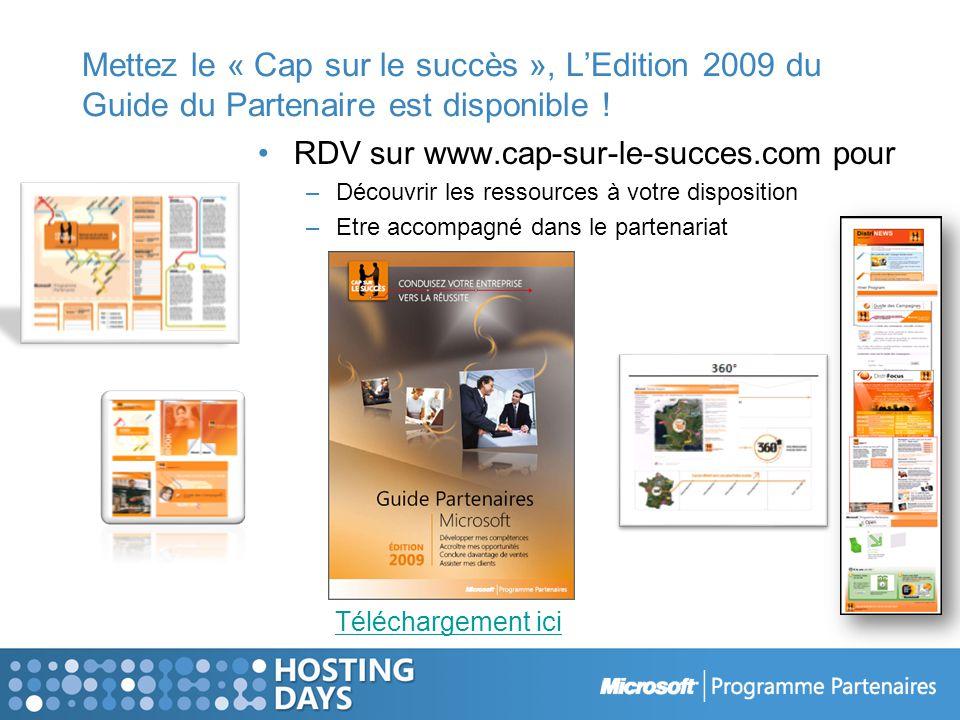Mettez le « Cap sur le succès », LEdition 2009 du Guide du Partenaire est disponible .