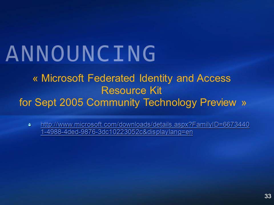 33 http://www.microsoft.com/downloads/details.aspx?FamilyID=6673440 1-4988-4ded-9876-3dc10223052c&displaylang=en http://www.microsoft.com/downloads/de