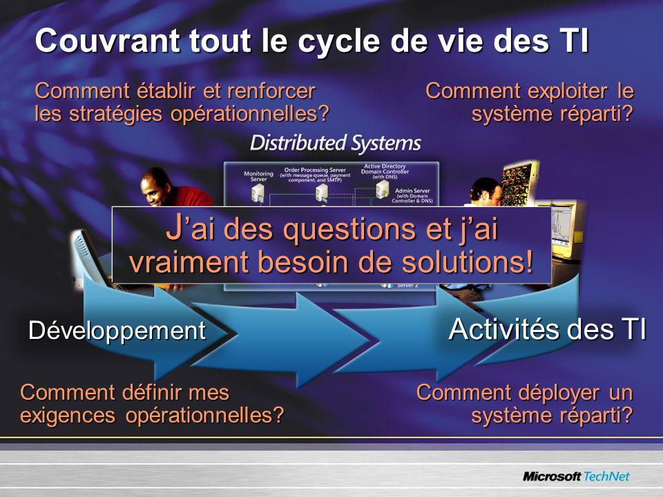 Comment établir et renforcer les stratégies opérationnelles.