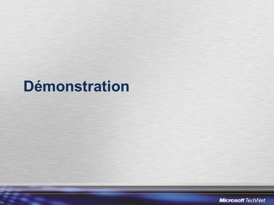 Mise à jour automatique Procédure automatique pour de multiple périphériques Processus similaire à Windows Update Configuration initiale via un fichier XML Serveur à installer et à maintenir (pas nécessairement dédié) Nécessité de brancher la RoundTable sur le réseau informatique.