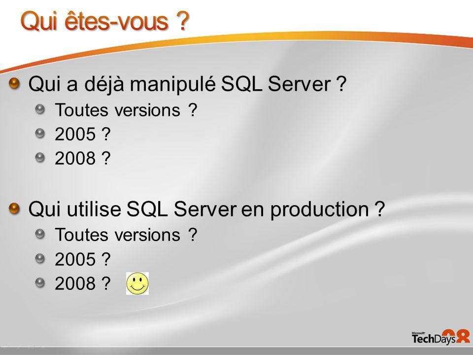 Patrick Guimonet http://blogs.technet.com/patricg http://blogs.technet.com/patricg Architecte Infrastructure Microsoft France