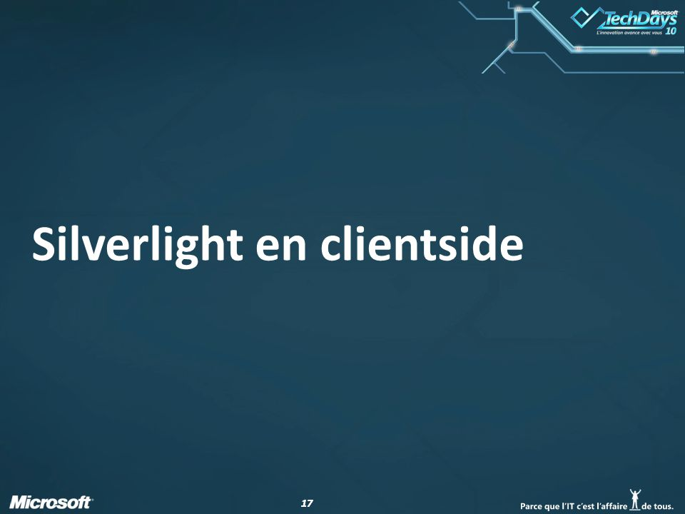 17 Silverlight en clientside