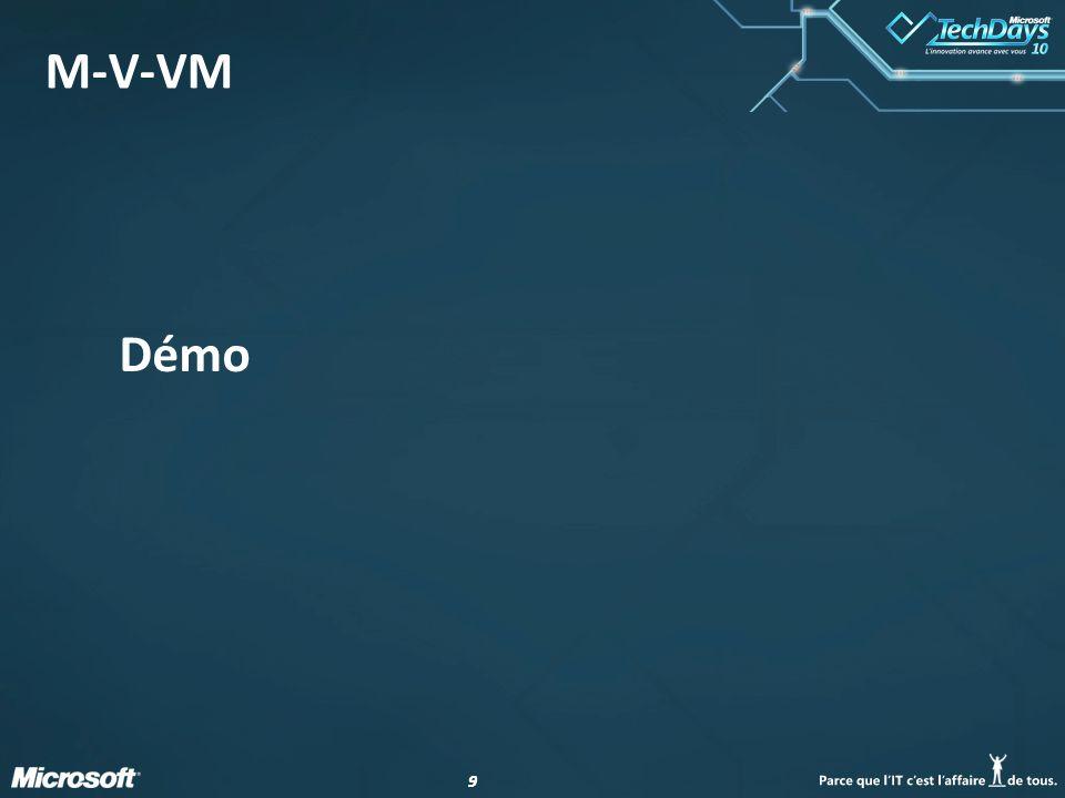 99 M-V-VM Démo