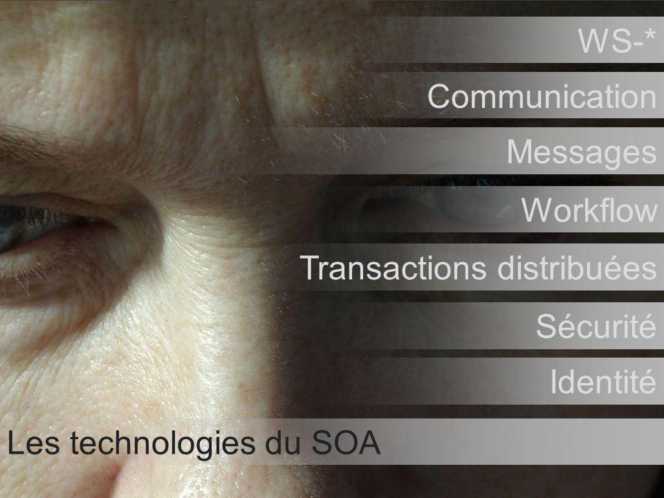 Tour de France Architectes Novembre / Décembre 2006 51 Les technologies du SOA WS-* Communication Messages Workflow Transactions distribuées Sécurité