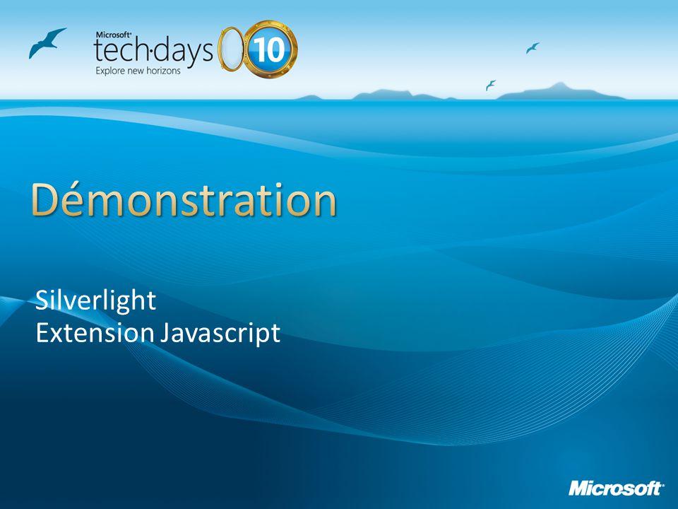 Silverlight Extension Javascript