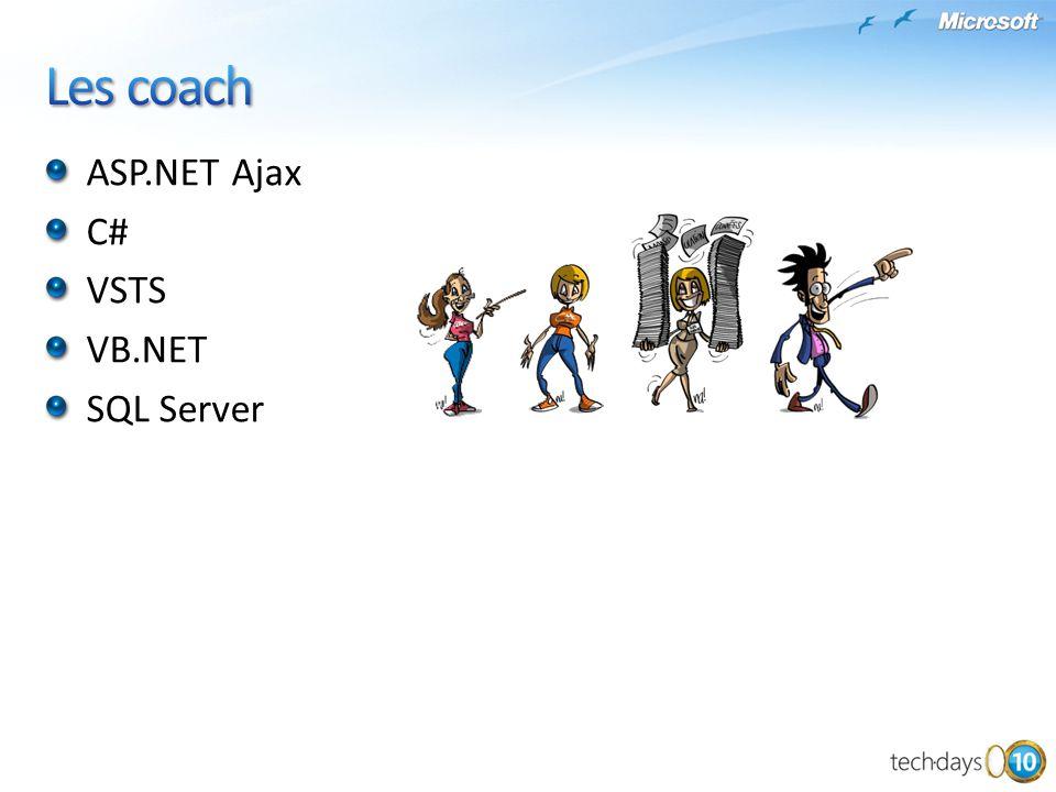 ASP.NET Ajax C# VSTS VB.NET SQL Server