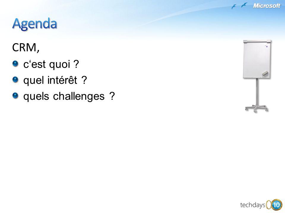 CRM, cest quoi ? quel intérêt ? quels challenges ?