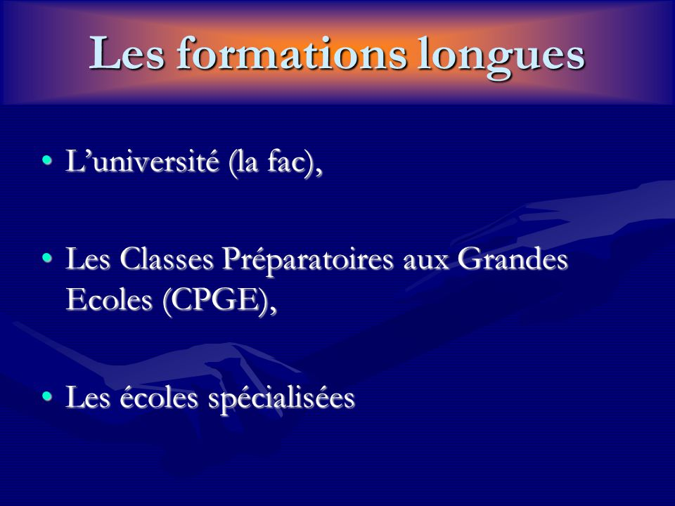 Luniversité… Organisation en semestres et en unités denseignements,Organisation en semestres et en unités denseignements, Syst.