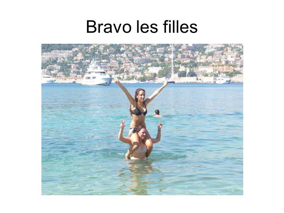 Bravo les filles