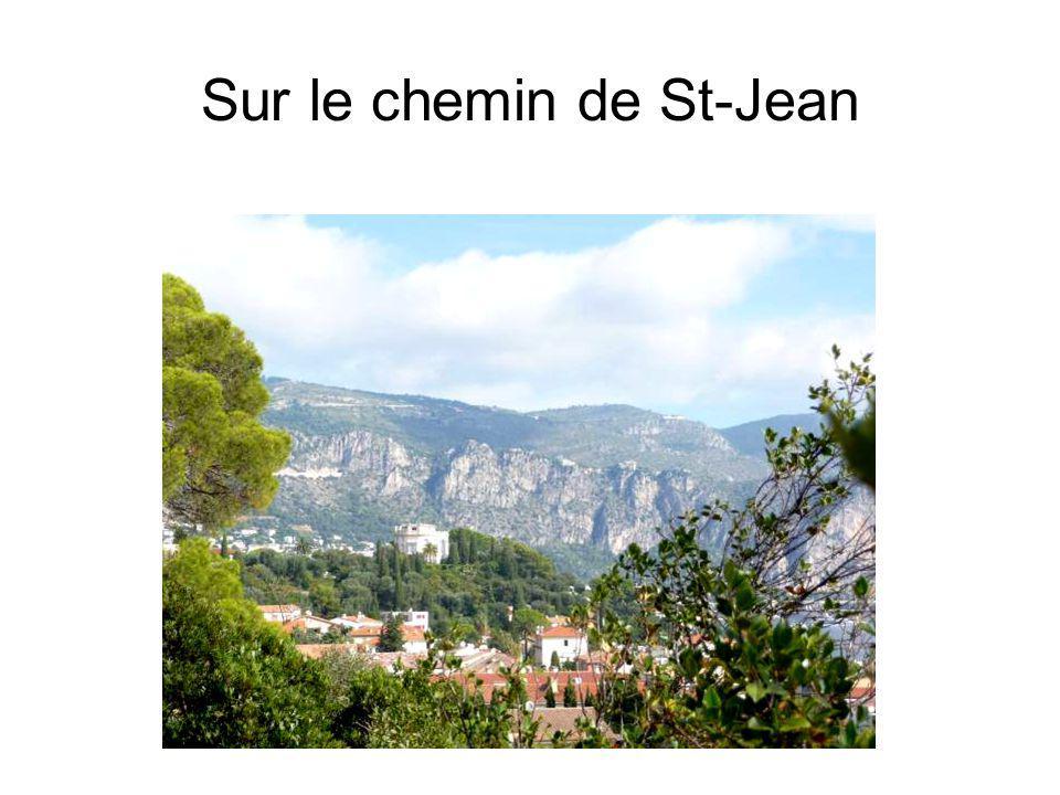 Sur le chemin de St-Jean