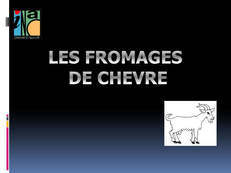 Chèvres Le fromage de chèvre est quasiment une spécialité nationale : les français en mangent 40 000 tonnes par an.