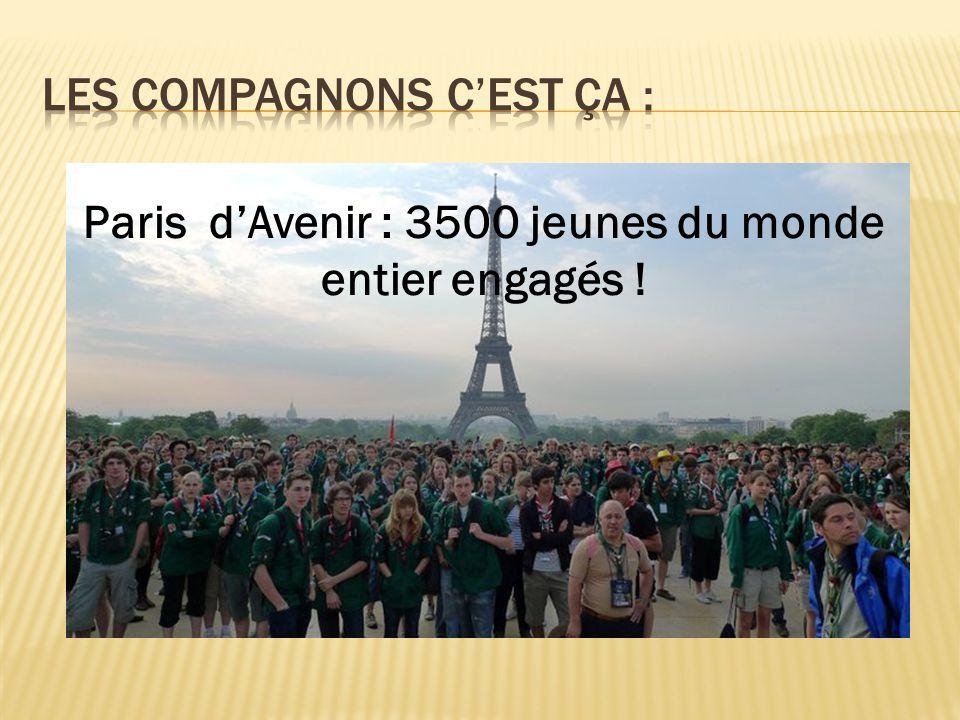 Paris dAvenir : 3500 jeunes du monde entier engagés !