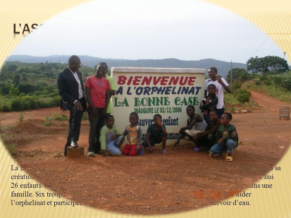 La Bonne Case soccupe de jeunes orphelins dont les parents sont morts du SIDA. Depuis sa création en 2004 par le père Claude LAH, elle ne cesse de gra