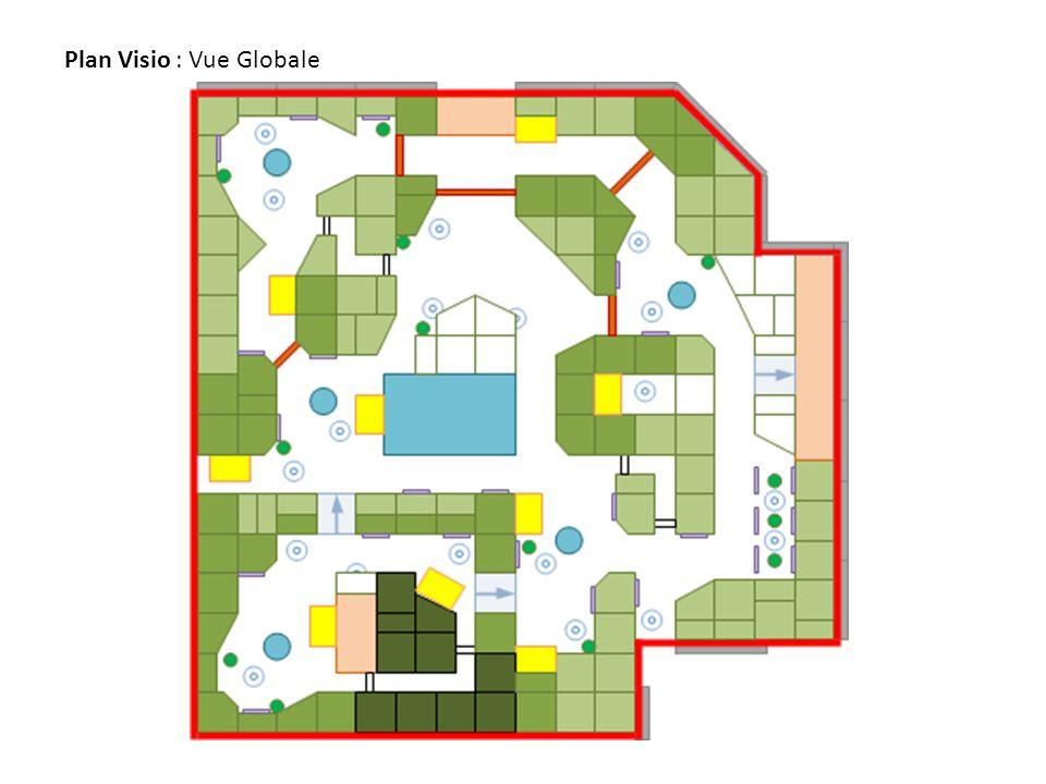 Plan Visio : Découpage des quartiers